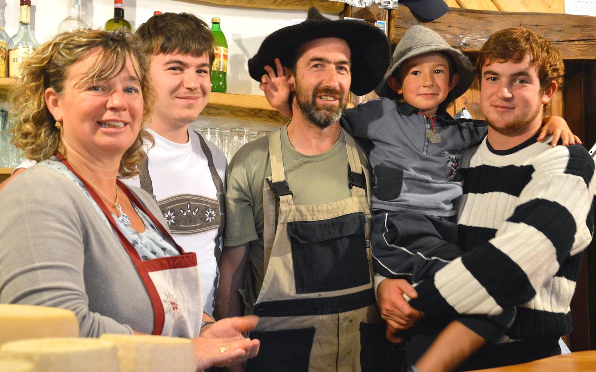 famiglia rizzardi-malga di coredo
